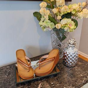 Aldo Heeled Sandals size 7- 7.5